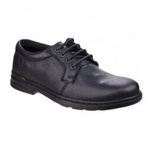 Mens George Hanston Black Formal Lace-up Shoes
