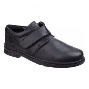 Mens Jeremy Hanston Black Formal Shoes