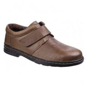 Mens Jeremy Hanston Brown Formal Shoes