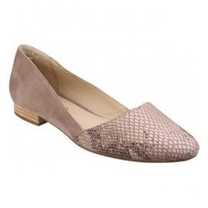 Womens Jovanna Phoebe Taupe Slip-on Shoes
