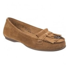 Womens Naveen Robyn Camel Slip on Shoes