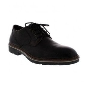 Mens Black Lace-Up Formal Shoes B3501-01