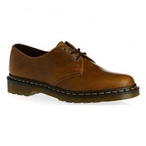 Mens 1461 Orleans Butterscotch Lace-Up Shoes 22829243