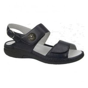 Womens Gunna Ocean Leather Velcro Sandals 204001 186 002