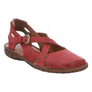 Womens Rosalie 13 Red Strap Over Shoes 79513 95 450