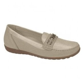 Womens Hesima Stone/Beige Loafers 329504 868 171