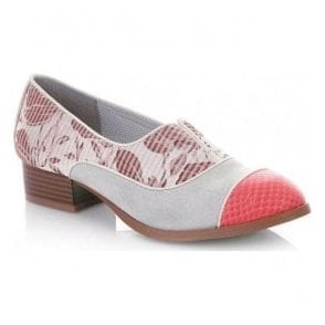 Womens Brooke Coral Slip-On Shoes 09191