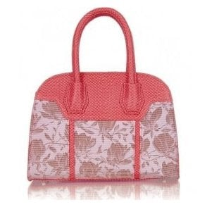Womens Cancun Coral Handbag 50125