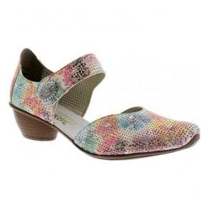 Womens Prestonbuk Multicolour Strap Over Shoes 43754-90