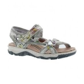 Womens Chios Multicolour Strap Over Sandals 68879-90