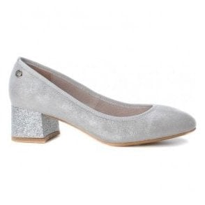 Womens 30707 Plata (Silver) Slip-On Court Shoes