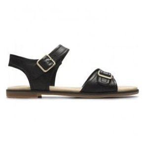 Womens Bay Primrose Black Leather Sandals 26131934