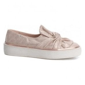 Womens 47829 Nude Slip-On Shoes