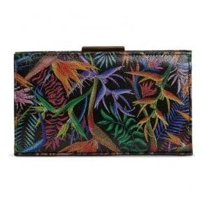 Womens Zinnia Paradise Print Clutch Bag 2522180