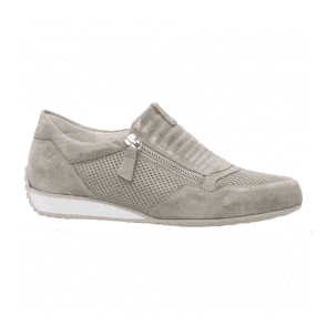 Womens Brunella Taupe Casual Zip-Up Trainers 86.352.93