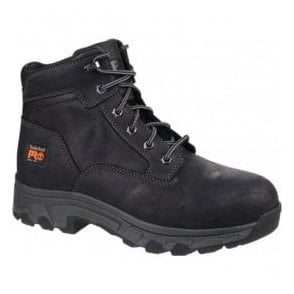 Mens Workstead Black Lace-up Safety Boots
