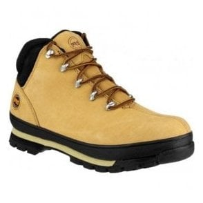Unisex Splitrock Wheat Lace-Up Safety Boots
