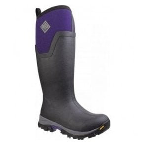 Womens Arctic Ice Black Tall Extreme Conditions Sport Boots