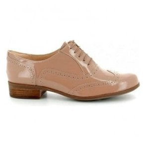 Womens Hamble Oak Nude Patent Leather Casual Shoe 26132466