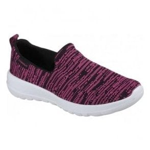 Womens Go Walk Joy Nirvana Black/Hot Pink Shoes 15602