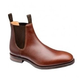 Mens Chatsworth Brown Dainite Leather Chelsea Boots