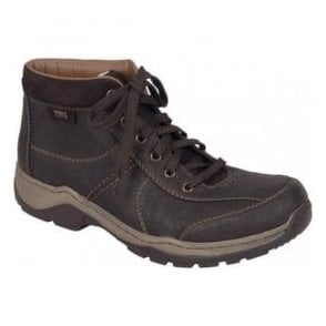 Mens Brown Waterproof Walking Boots 34420-28