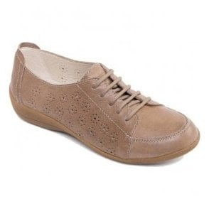 Womens Darcy 2 Biscuit Lace-Up Trainers