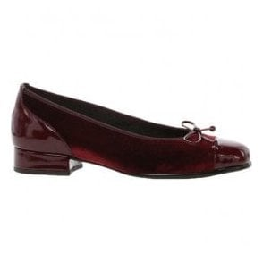 Womens Emporium Merlot Pump Shoes With Bow 96.102.28