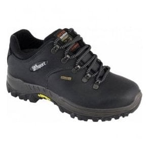 Mens Dartmoor Black Waterproof Walking Shoes