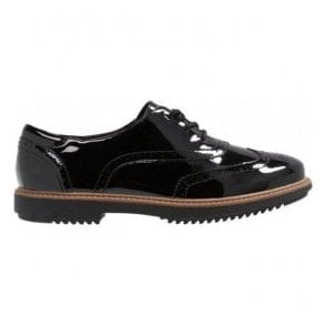 Womens Raisie Hilde Black Patent Casual Shoes 26136343