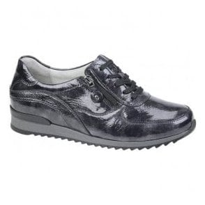 Womens Hurly Carbon Patent Walking Shoes 370013 143 052