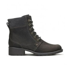 Womens Orinoco Spice Grey Nubuck Ankle Boots