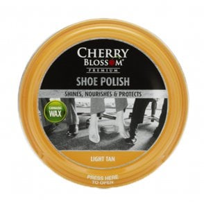 Light Tan Premium Paste Shoe Polish