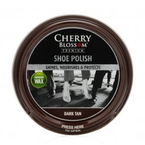 Dark Tan Premium Paste Shoe Polish