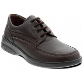 Mens Fire Brown Lace Up Shoes