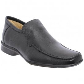 Mens Copacabana Black Slip On Shoes