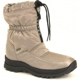 Womens Alaska 118 Taupe Waterproof Zip Boots
