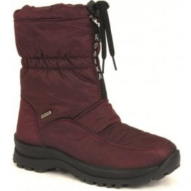 Womens Alaska 118 Bordo Waterproof Zip Boots