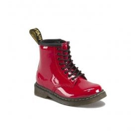 Brooklee Red Patent Leather Boots 15373602