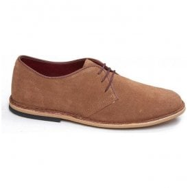 Mens Otis Ginger Suede 3 Eyelet Shoe