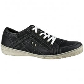Mens Cinderford Black Trainer Type Shoes