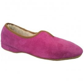 Womens Belinda Fuchsia Slip On Slippers
