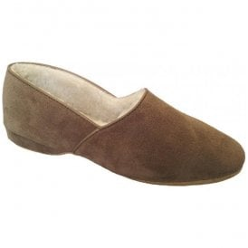 Mens Anton Nut Luxury Slippers