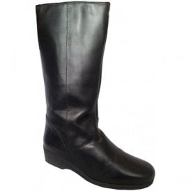 Womens Malton Black High Leg Boots