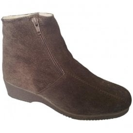 Womens Cambridge Brown Suede Boots
