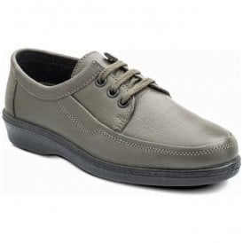 Mens Rebel Grey Lace Up Shoes