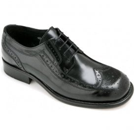 Mens Kromby 2 Black Lace-Up Brogue Shoes