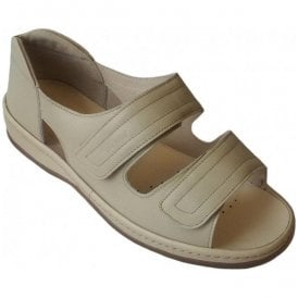 Womens Cheryl Stone Velcro Strap Over Sandals