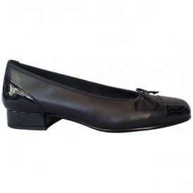 Womens Emporium Navy Pump Shoes With Bow 86.102.66