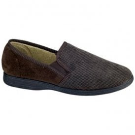 (Fleet & Foster) Mens Tim Brown Slippers